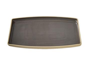 Große Servierplatte von Pampered Chef® in grau