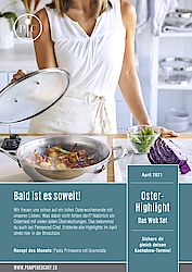 Pampered Chef Magazin von April 2021