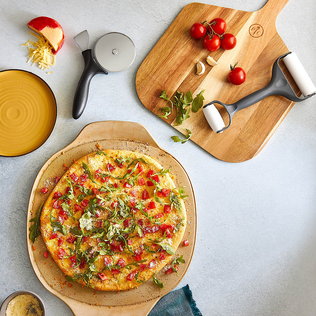 Coverbild von Pampered Chef® vom Pizza Set
