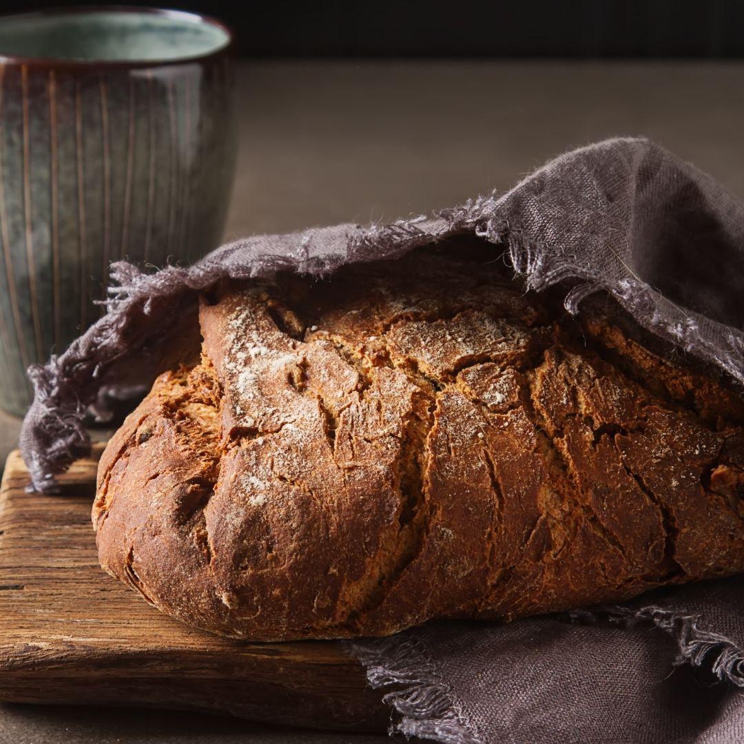 Brot Aufbewahrung mit Leinentuch von Pampered Chef®