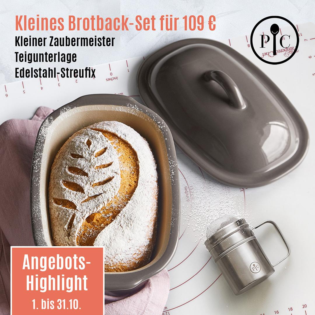 Kleines Brotback-Set als Angebot im Oktober von Pampered Chef®