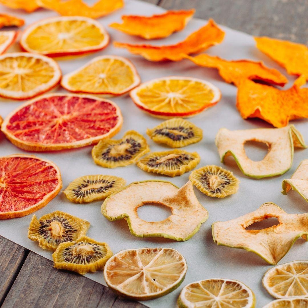 Gedörrtes Obst für den Air Fryer von Pampered Chef®