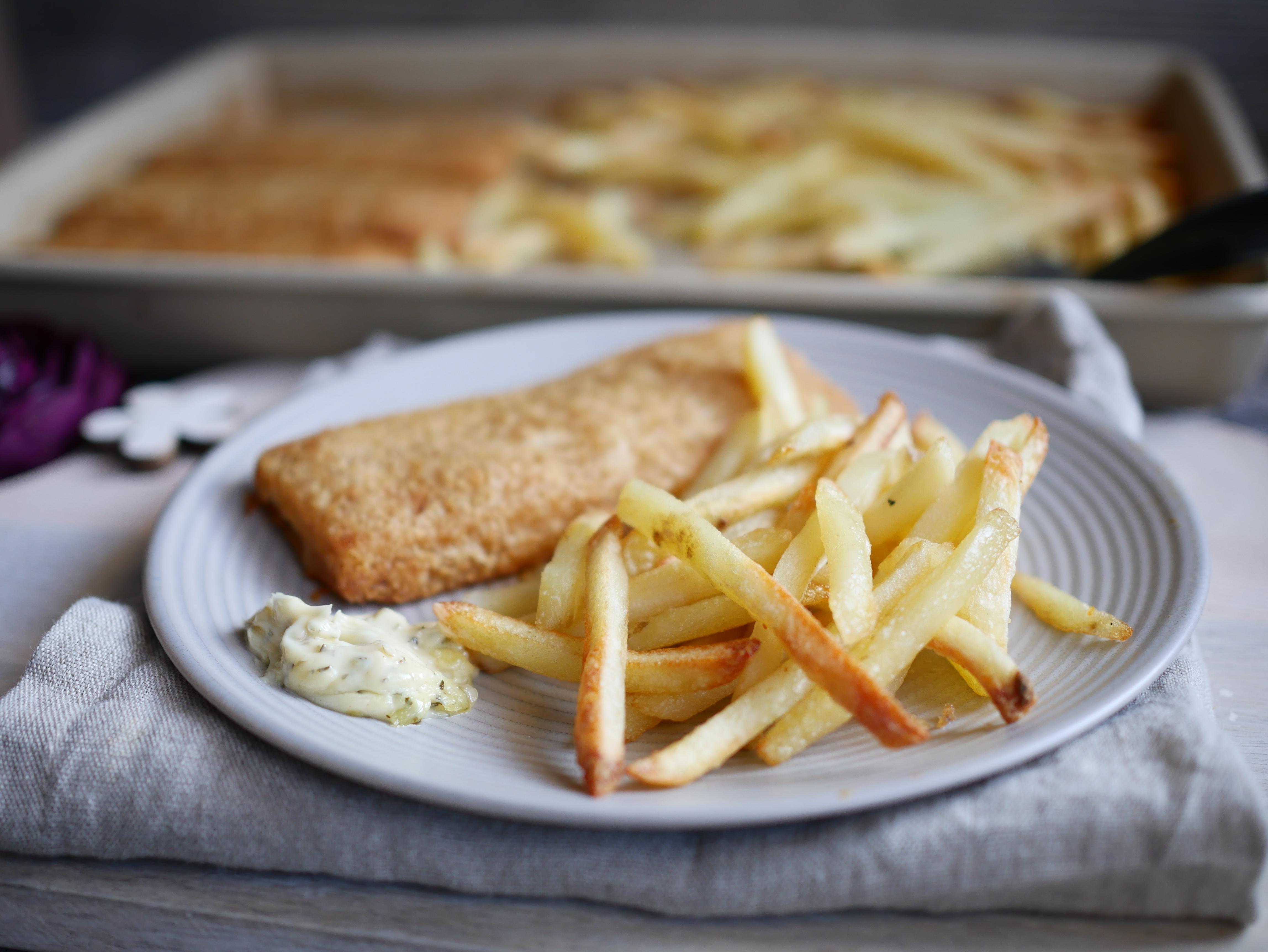 Fisch und Chips vom Zauberstein von Pampered Chef®
