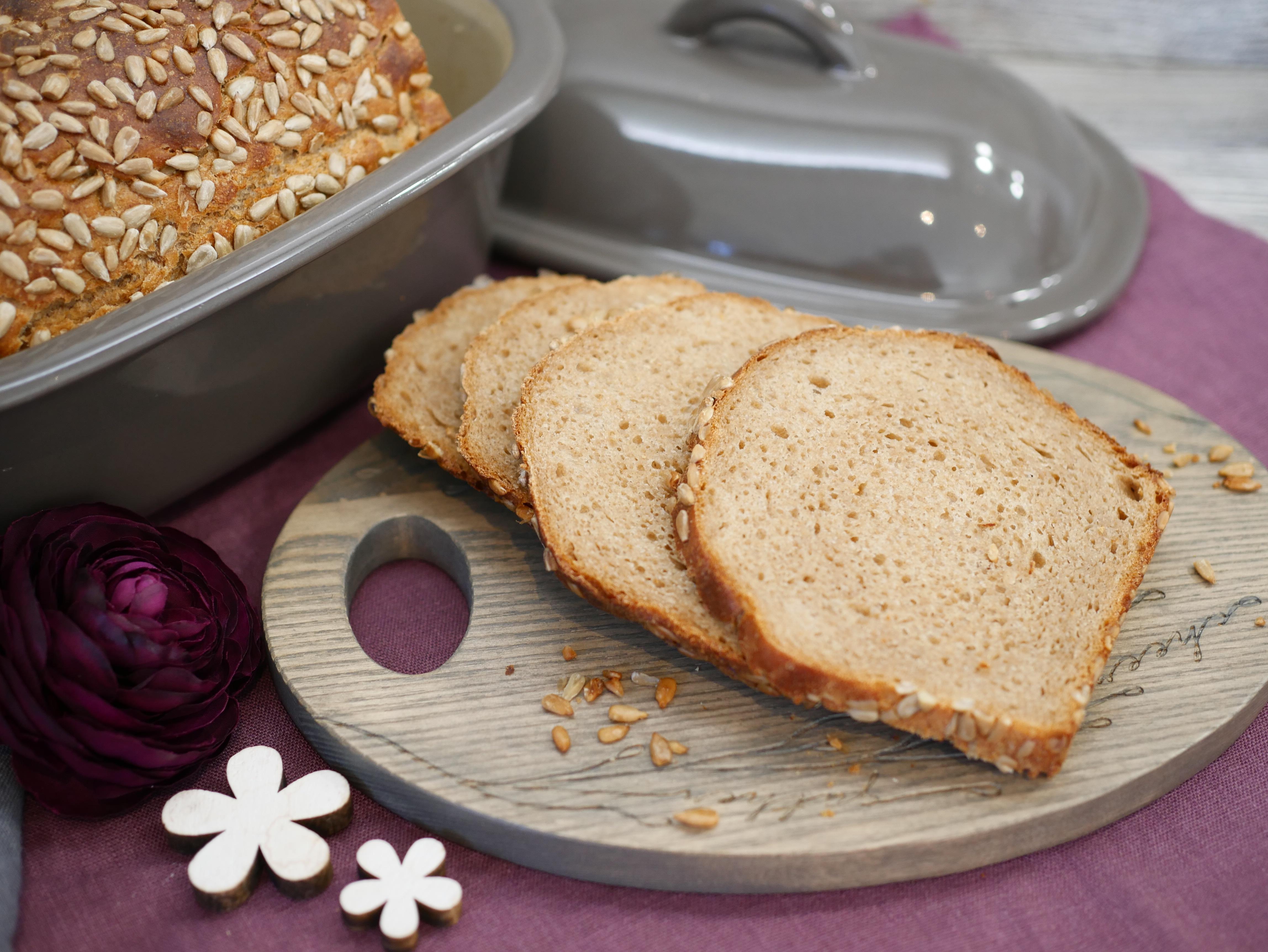 Brotscheiben und Brot für Rezept kleine Rietberger Roggenkruste von Pampered Chef®