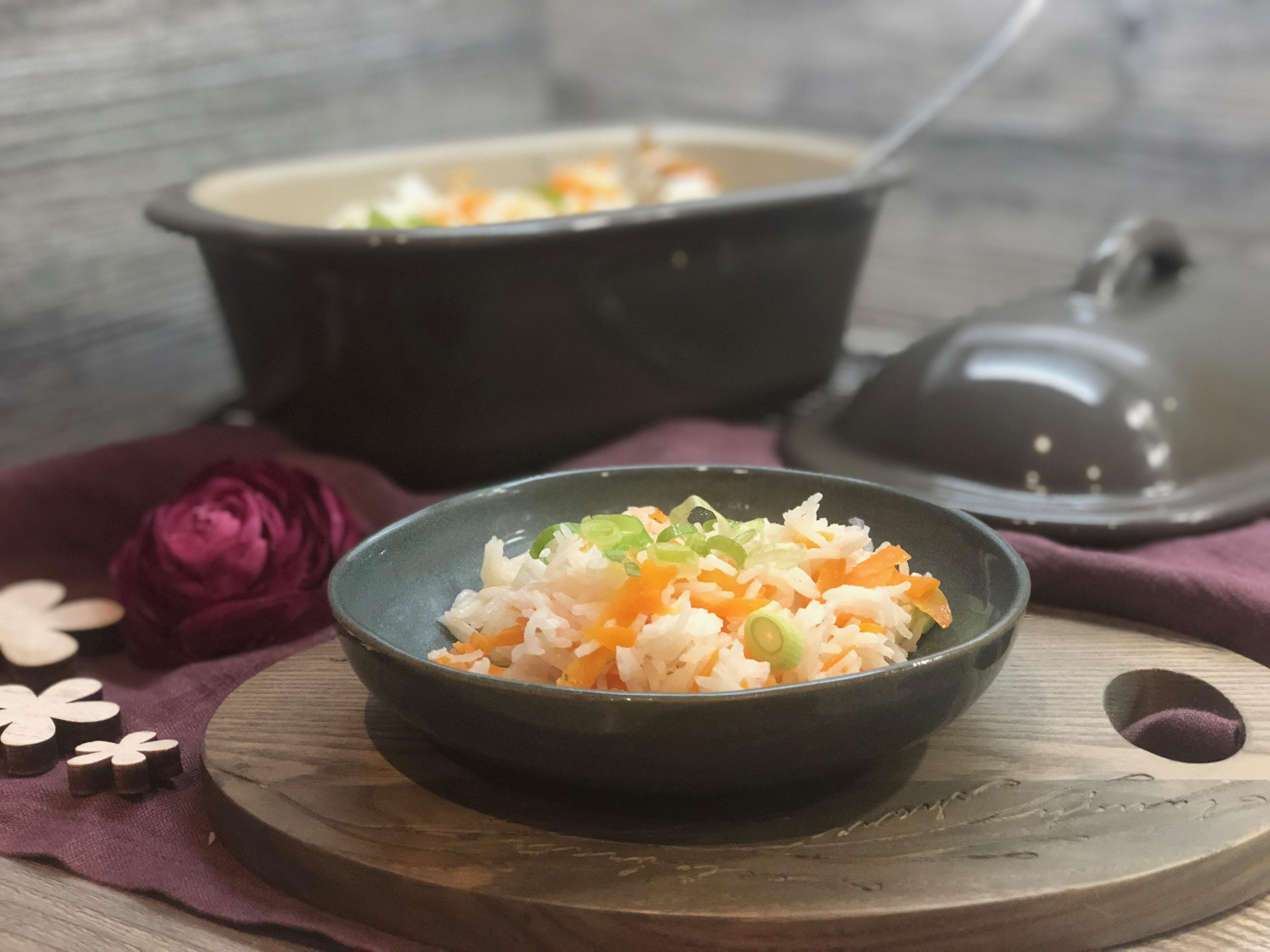 Möhren Reis aus dem kleinen Zaubermeister von Pampered Chef®
