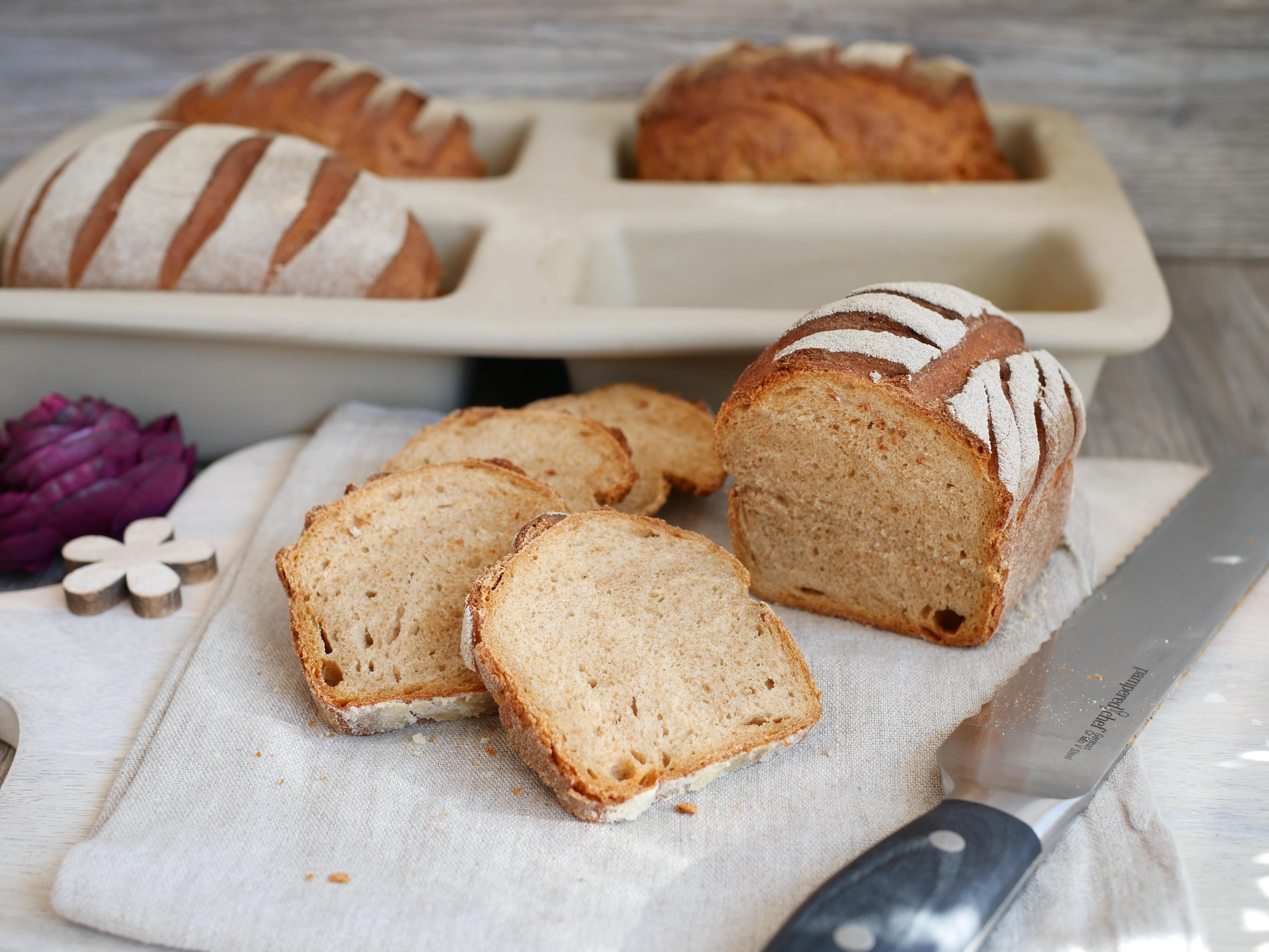 Brotscheiben für Rezept Lieblingsbrote aus der Mini-Kastenform von Pampered Chef®