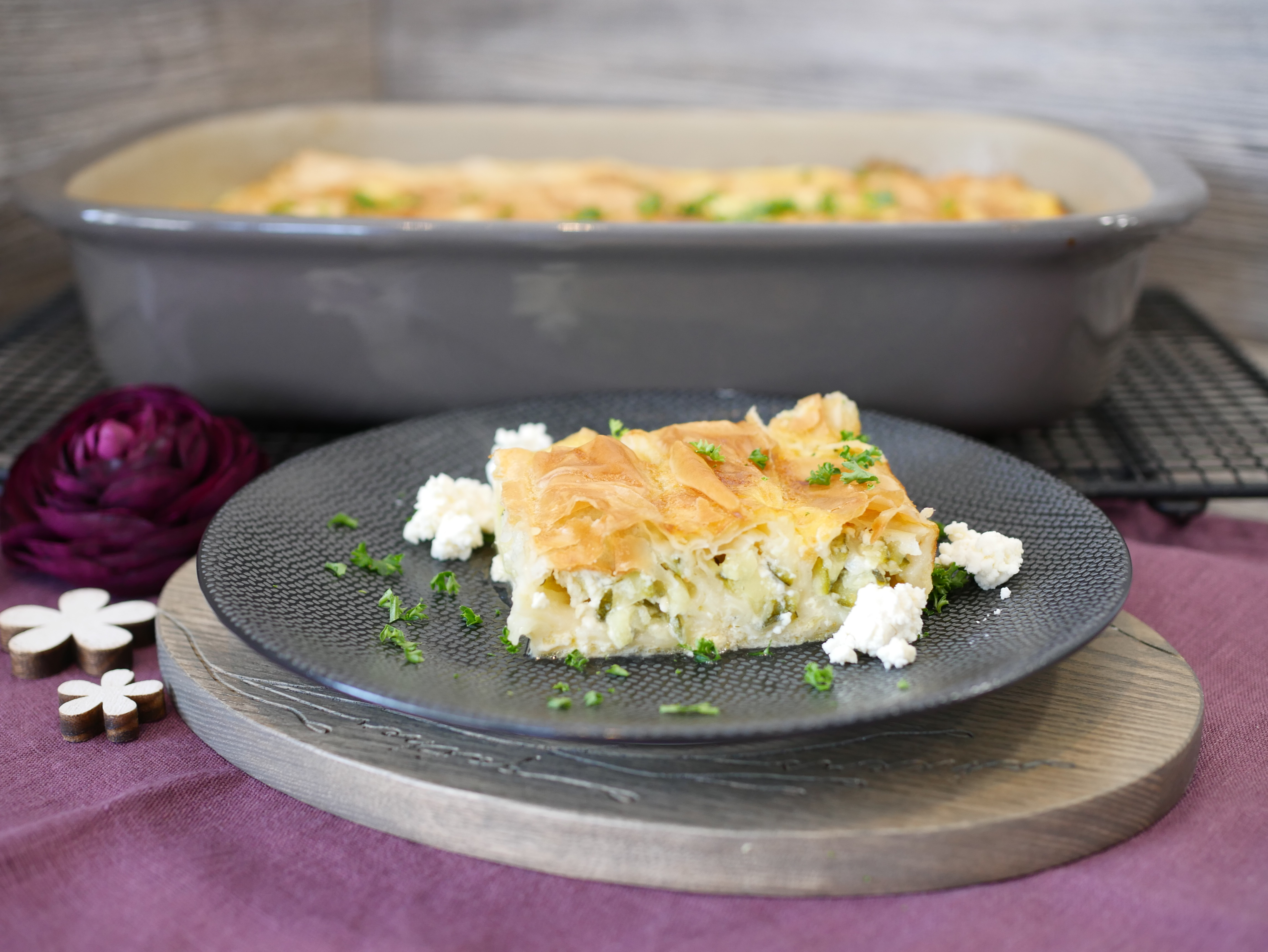 Rezept schnelle Börek aus der Ofenhexe® von Pampered Chef®