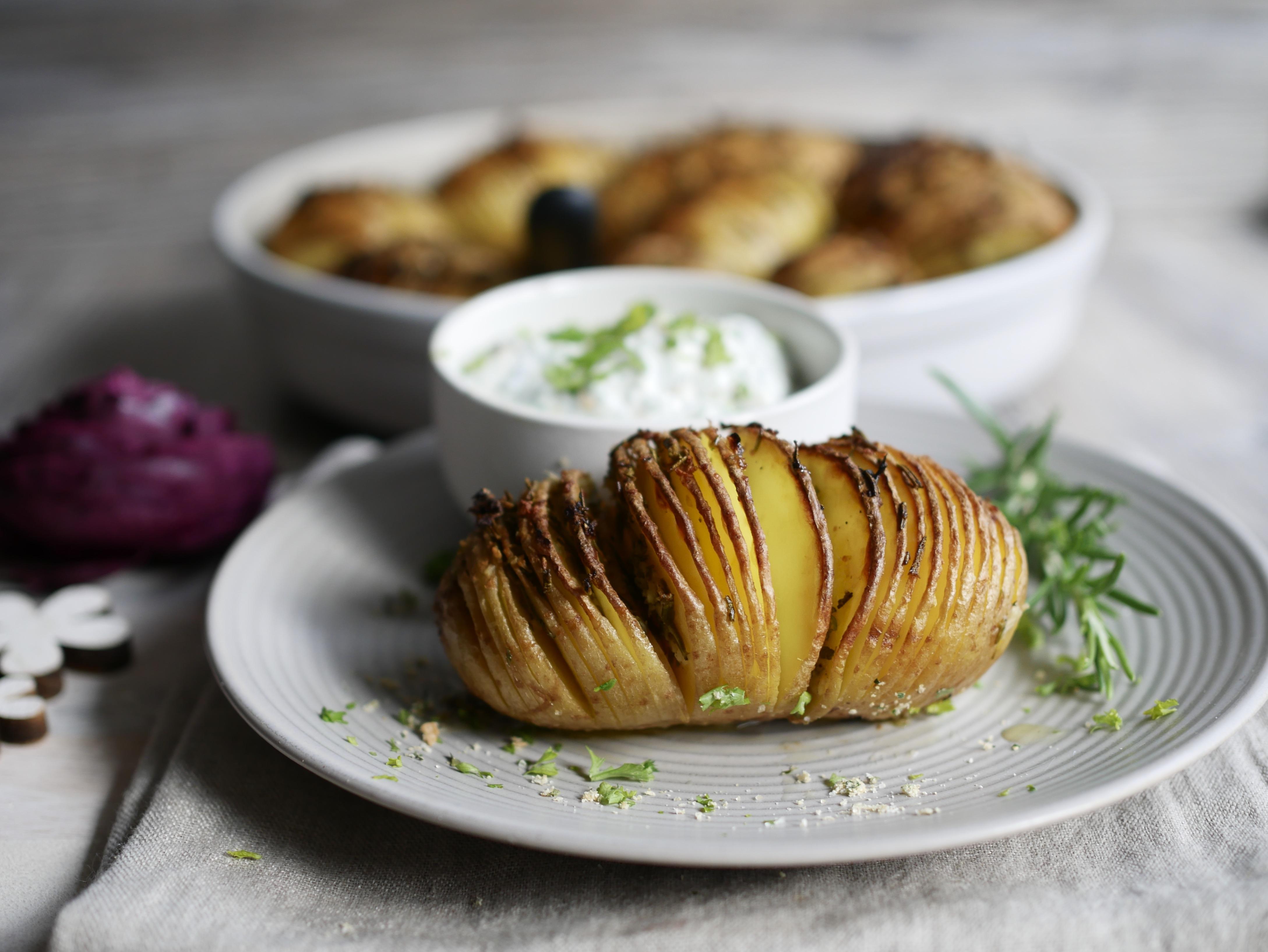 Rezept Fächerkartoffeln aus der runden Ofenhexe® von Pampered Chef®